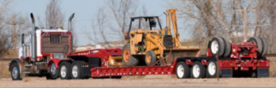 Nationwide--your best transport option for heavy equipment!