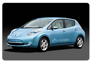 drive electric tour featuring the Nissan Leaf
