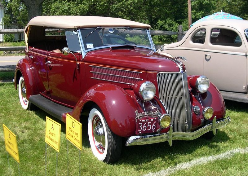 Ship your 1936 Ford Phaeton to Sacramento, California, with Nationwide Auto Transport!