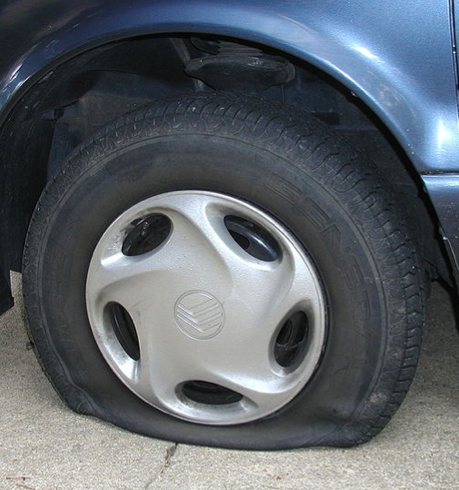 Avoid flat tires and blowouts on long trips--ship your car with Nationwide!